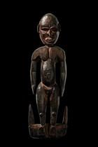 Figural suspension hook, Papua New Guinea, Iatmul