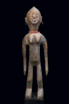 Standing female figure, Burkina Faso, Mossi