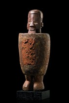 "Male power figure ""biteki"", D. R. Congo, Teke"