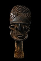 Head sculpture, Cameroon, Tikar