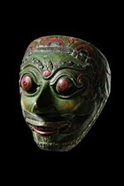 Theater mask, Indonesia - Java