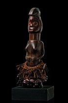 "Female power figure ""biteki koshi"", D. R. Congo, Suku"