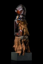 Small power figure &quot;nkisi&quot;, D. R. Congo, Songe