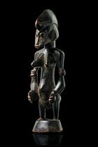 "Small female figure ""tugubele"", Ivory Coast, Senufo"