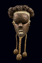 Mask &quot;mukinka&quot;, D. R. Congo, Salampasu