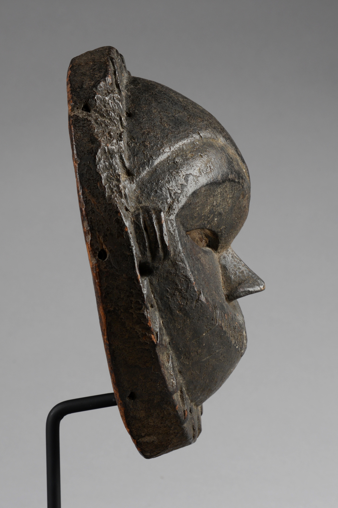 Runde Maske