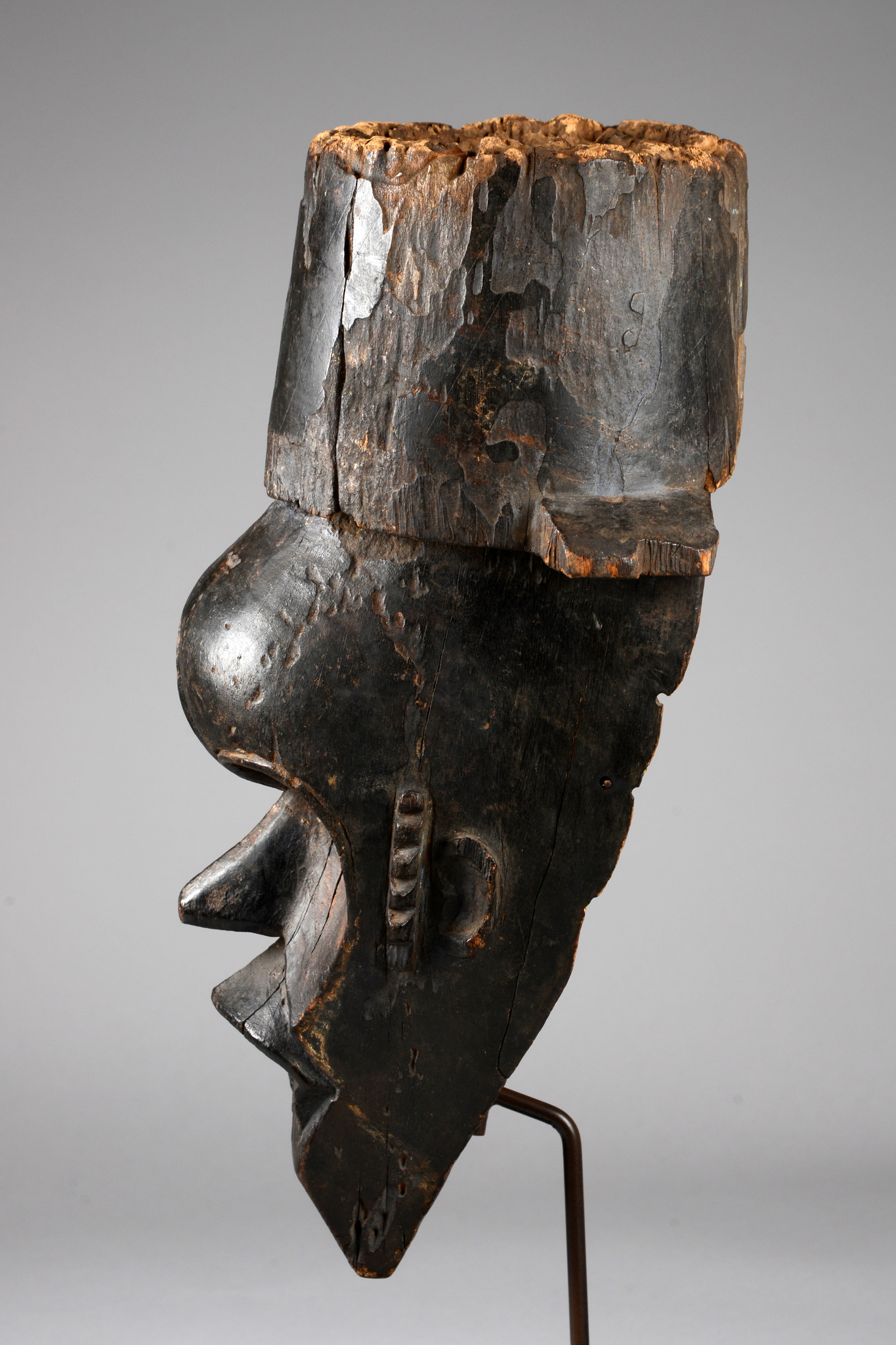 Mask with hat