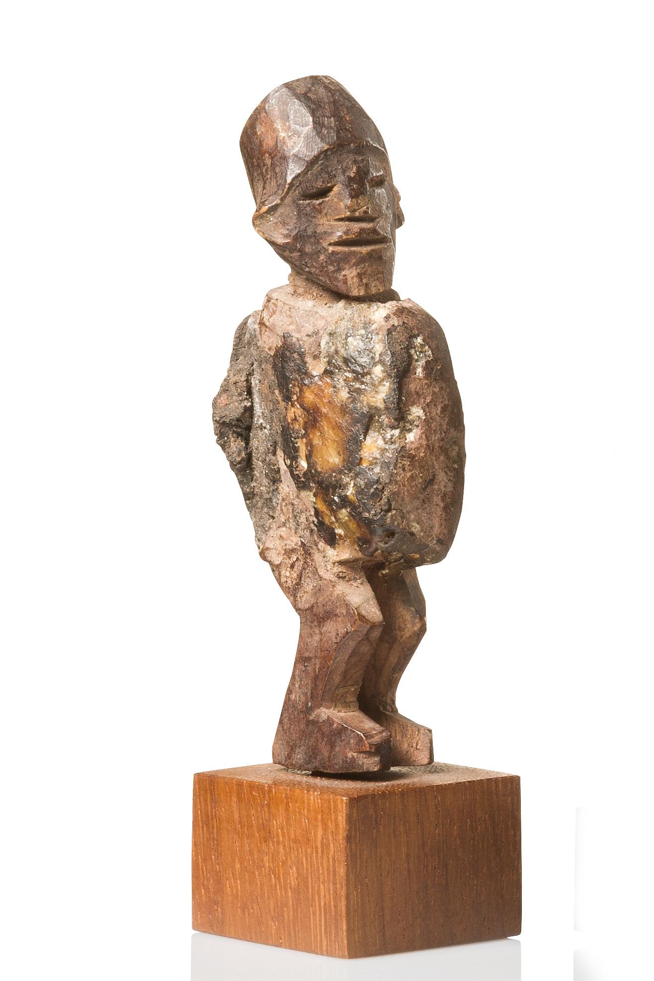 "Standing power figure ""nkisi"""