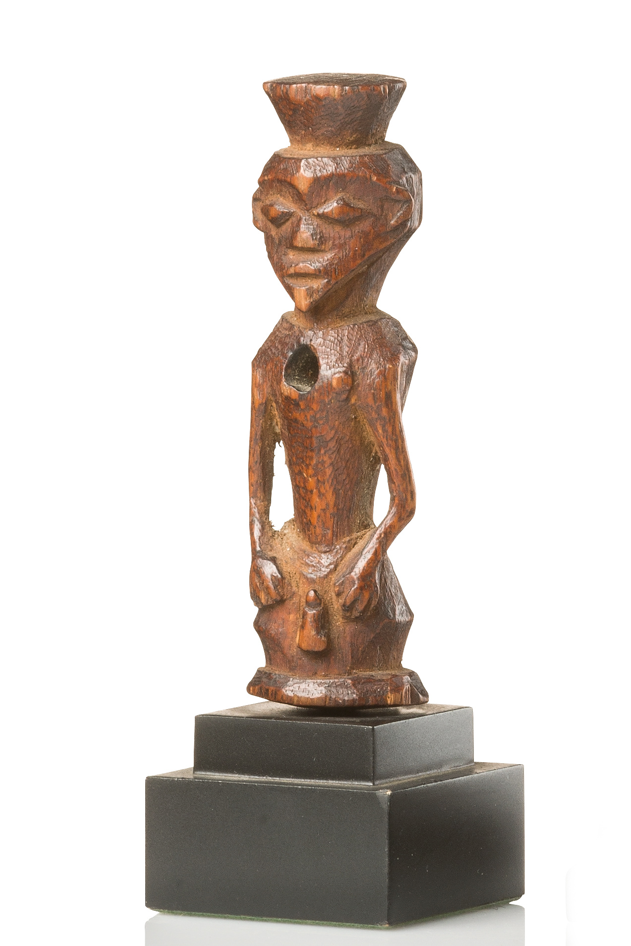 Small male half figure