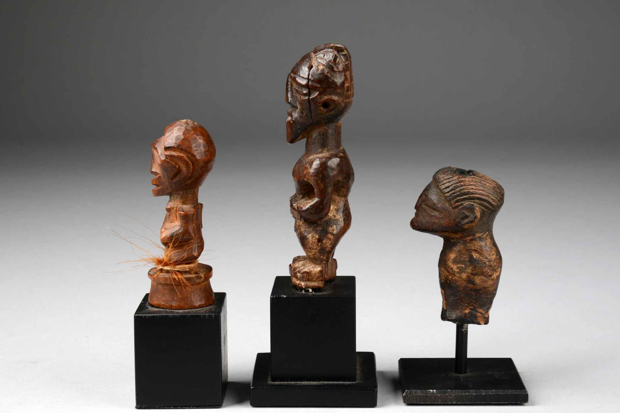 "Three power figures ""nkisi"""