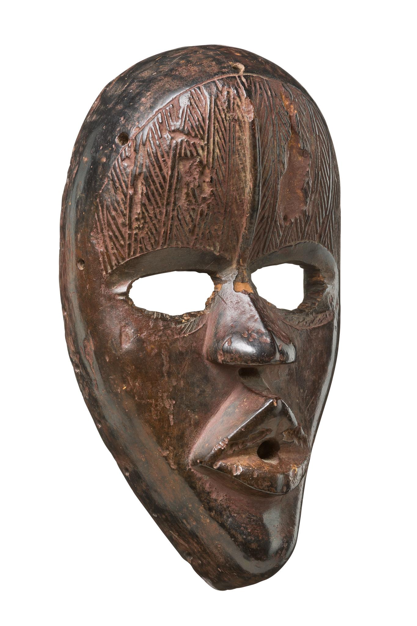 "Anthropomorphic face mask ""tankagle"""