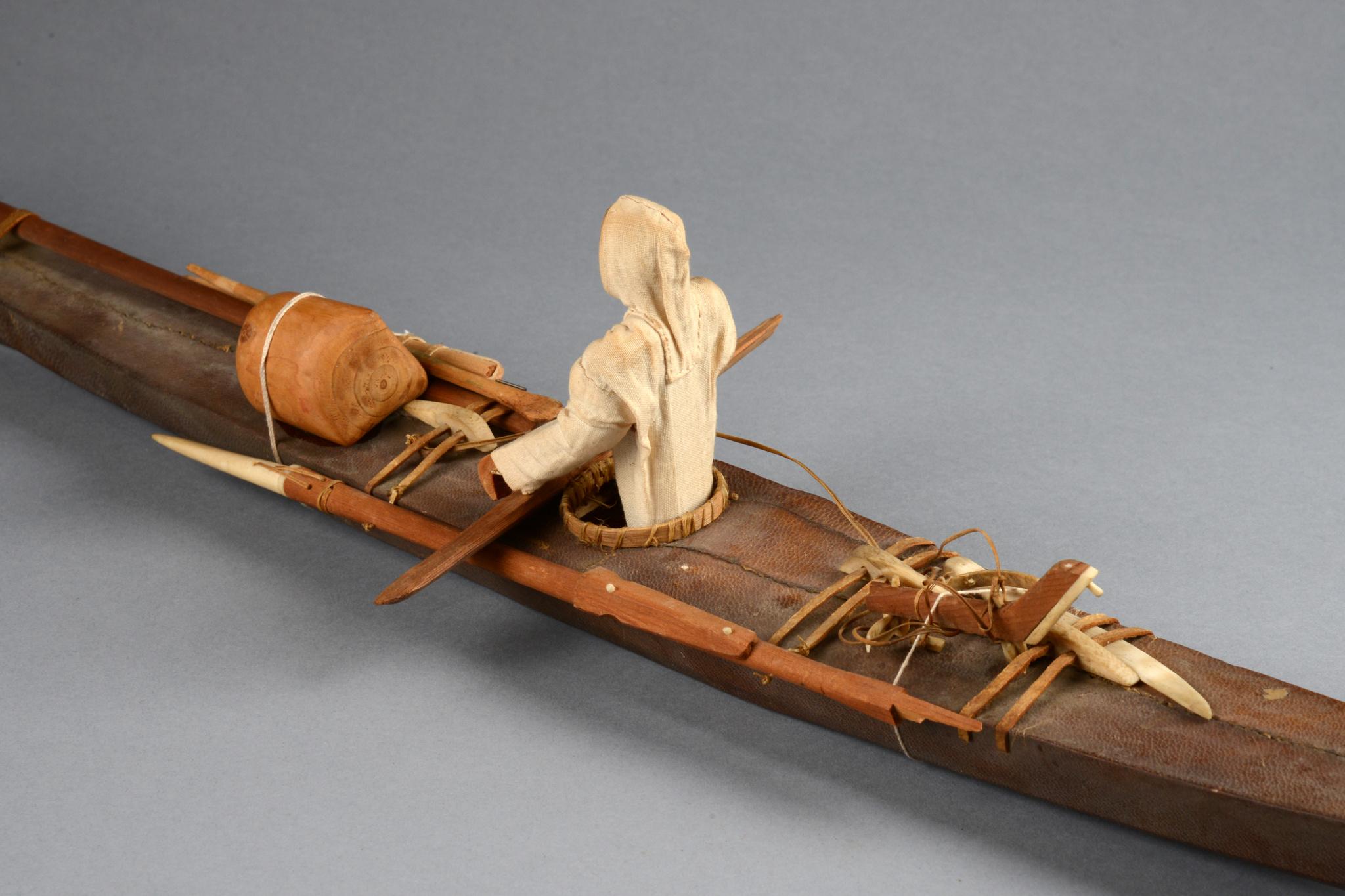 Model of Inuit cajak