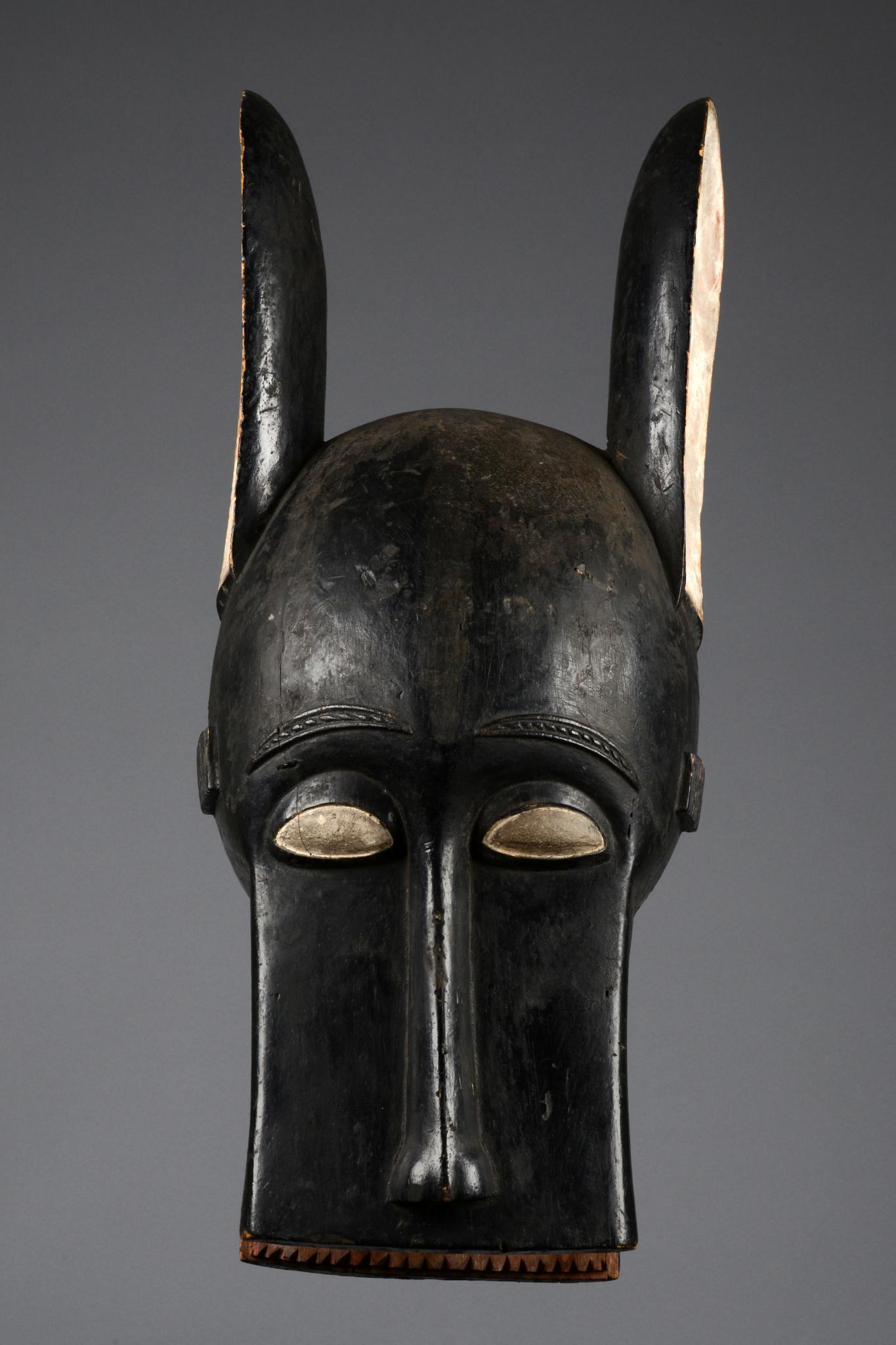 "Zoomorphic helmet mask ""bonu amwin"""