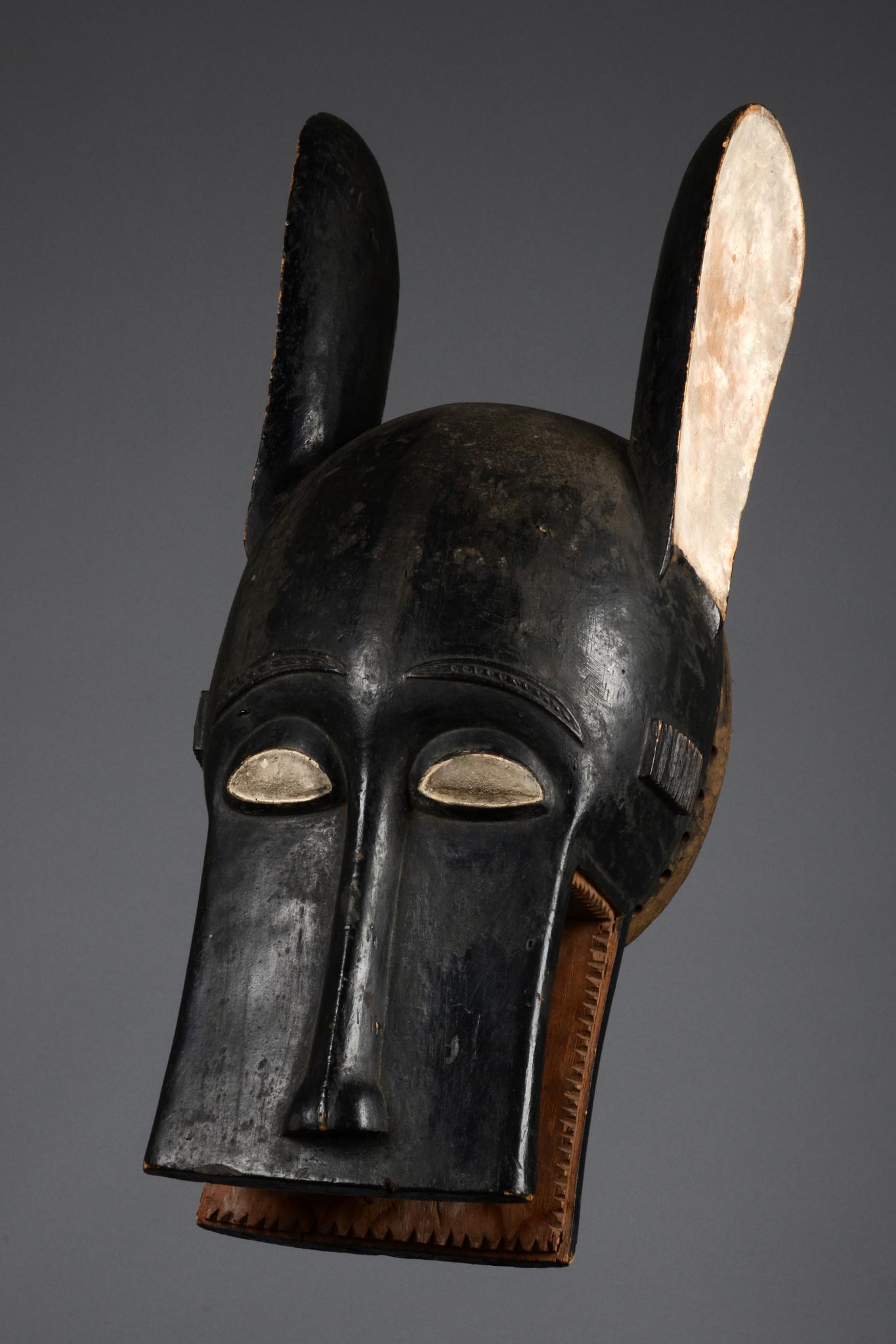 "Zoomorphe Helmmaske ""bonu amwin"""
