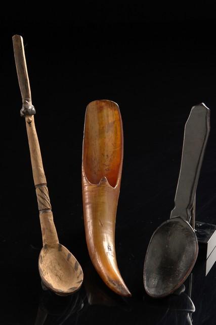 Three spoons