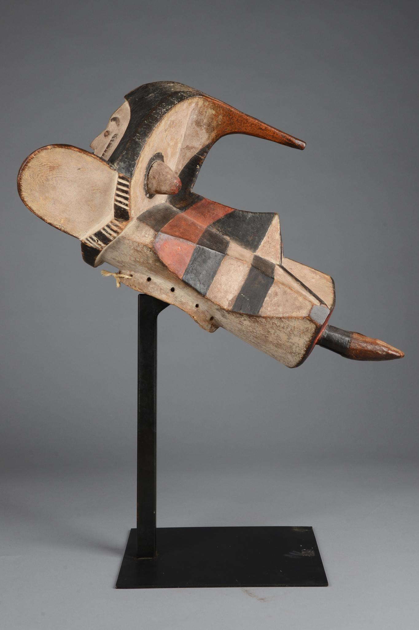 """Elephant spirit mask """"ogbodo enyi"""""""