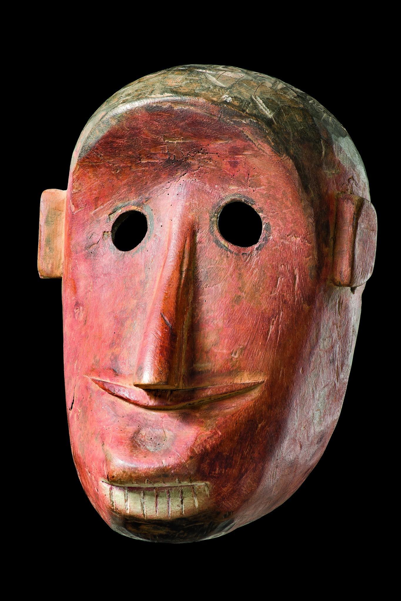 "Mask of ""hanuman"" (""King of the apes"")"