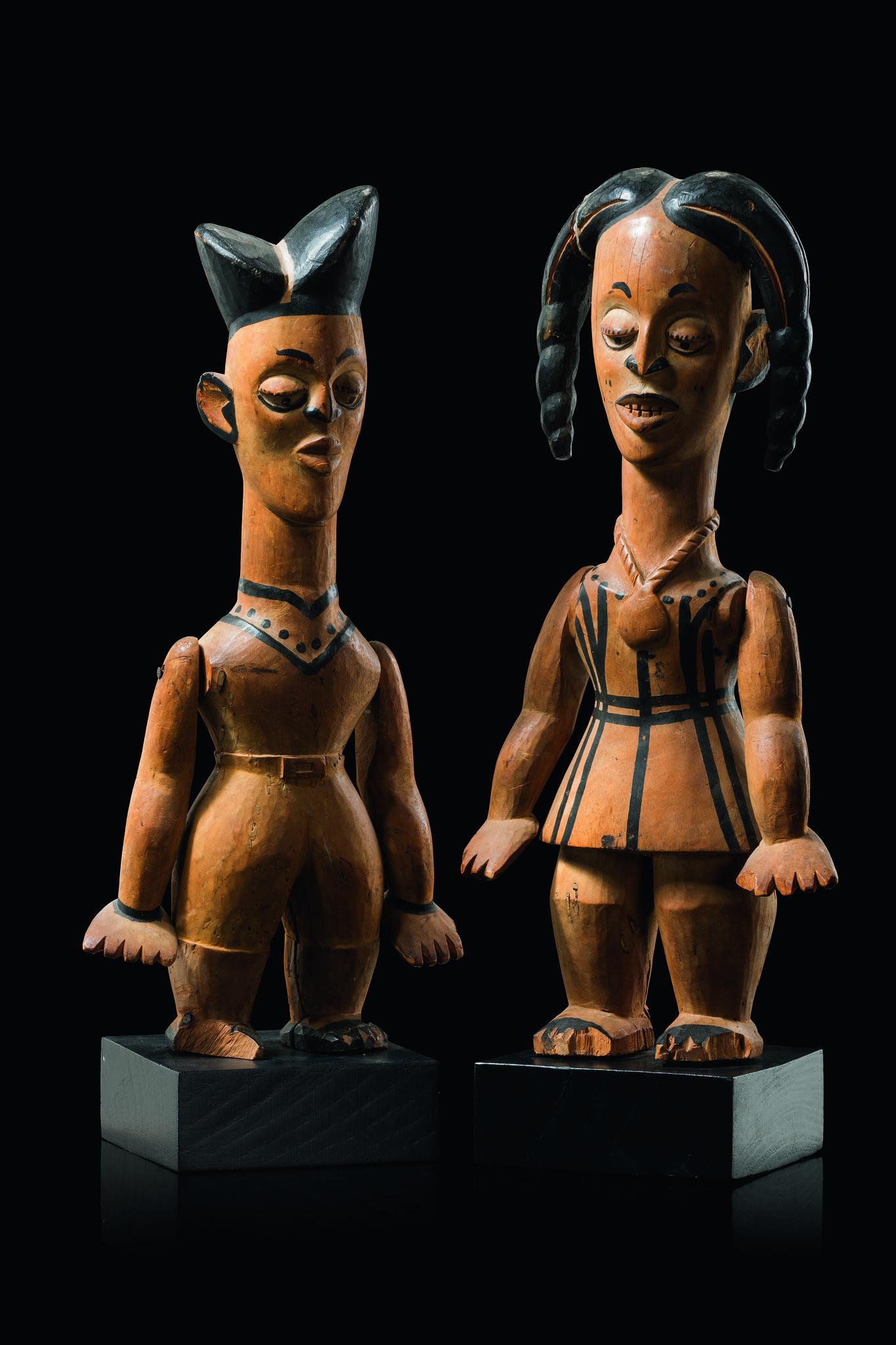 Marionettenfiguren-Paar