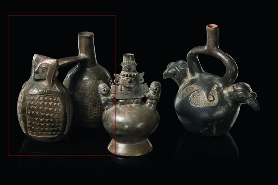 Doppelgefäss, ca. 900-1100 nach Chr.