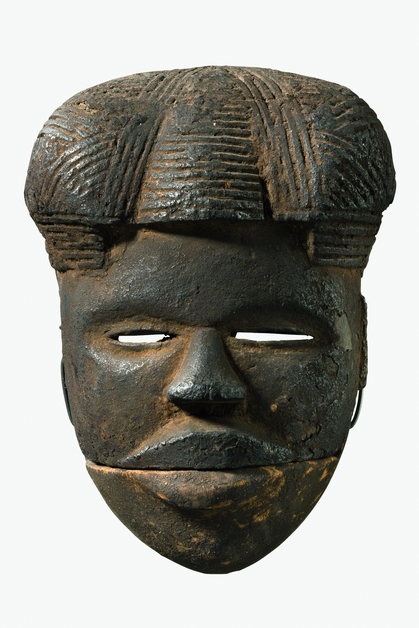 "Mask with hinged jaw ""elu"""