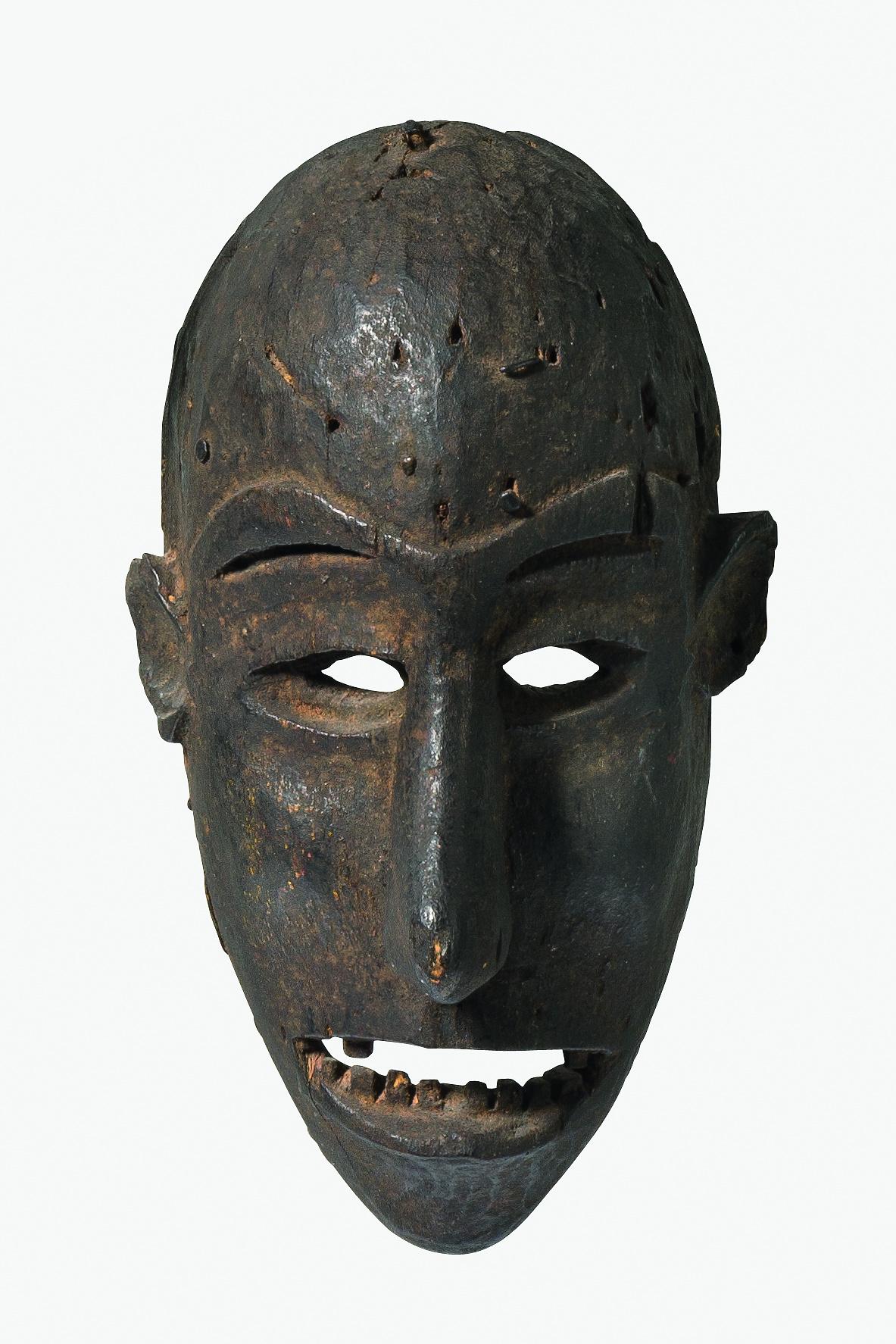 Kleine anthropomorphe Gesichtsmaske