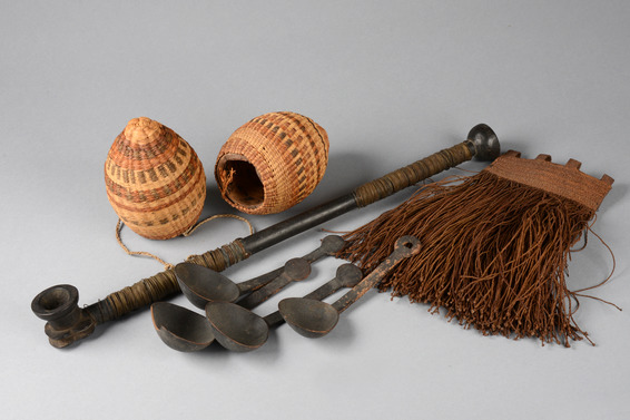 Eight ethnographic objects