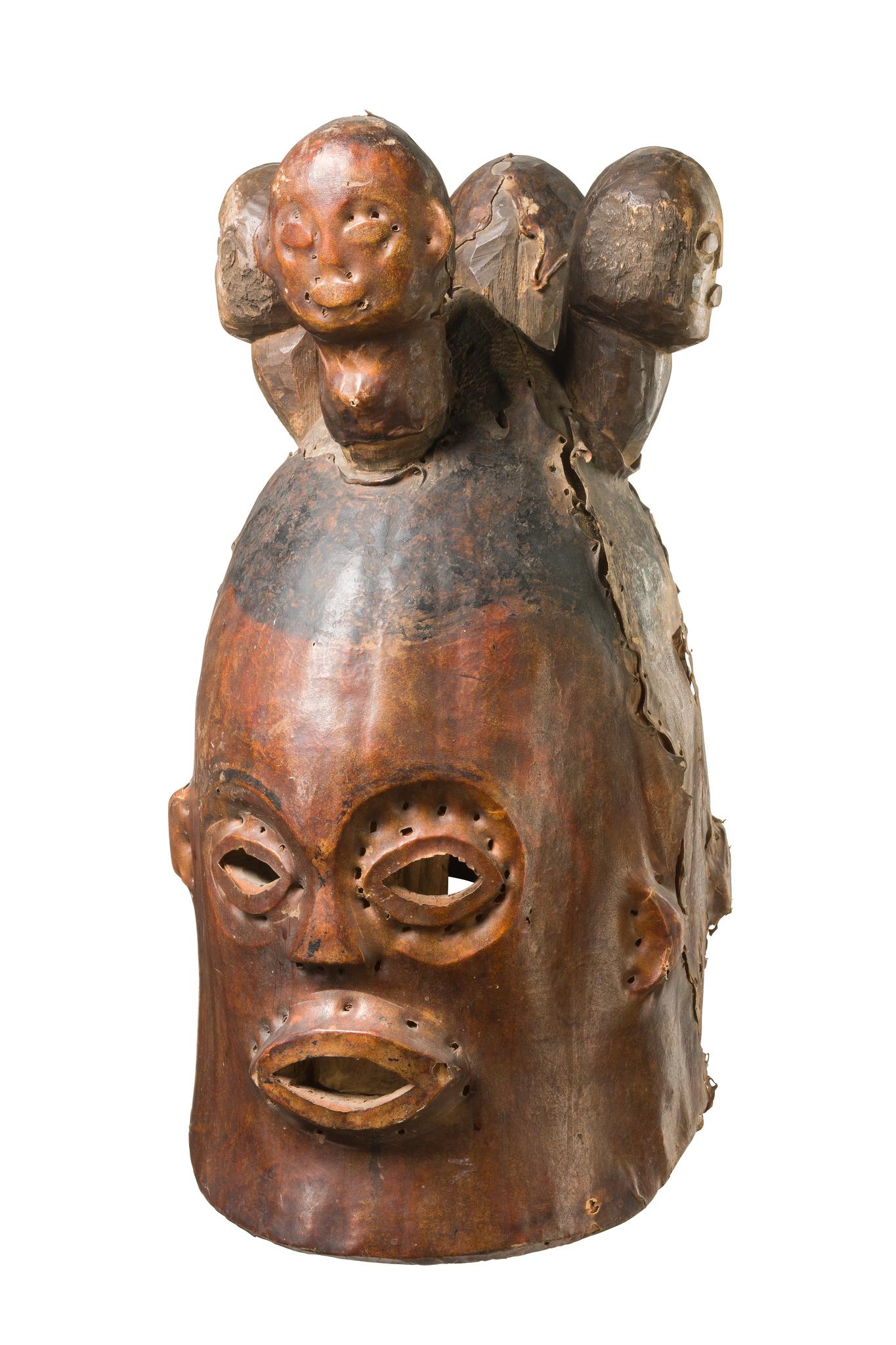 "Janiform helmet mask ""agwe"""