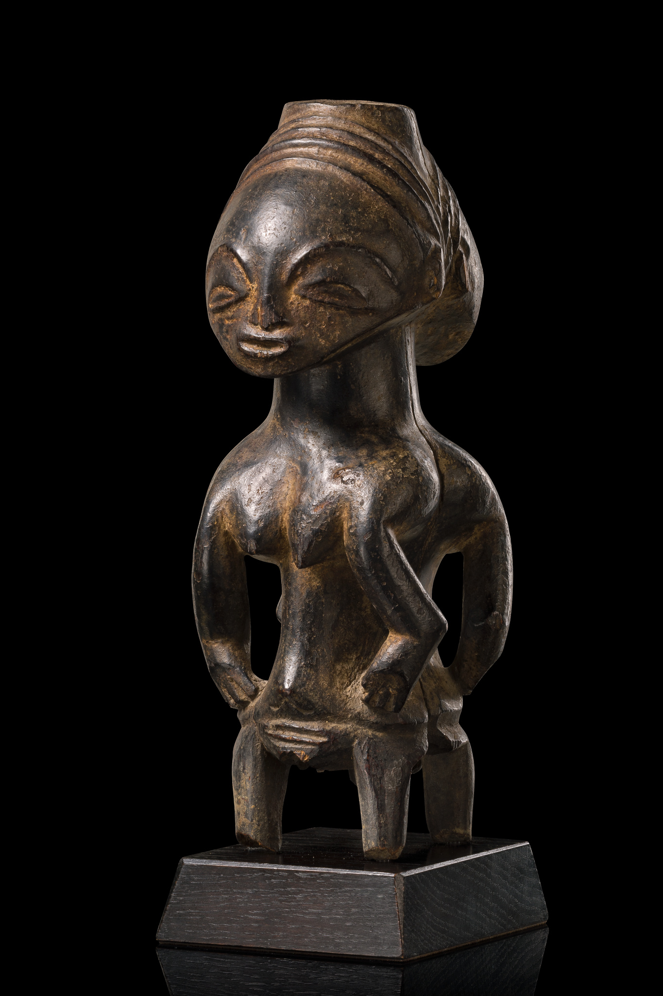"Janiform magical figure ""kabeja"""