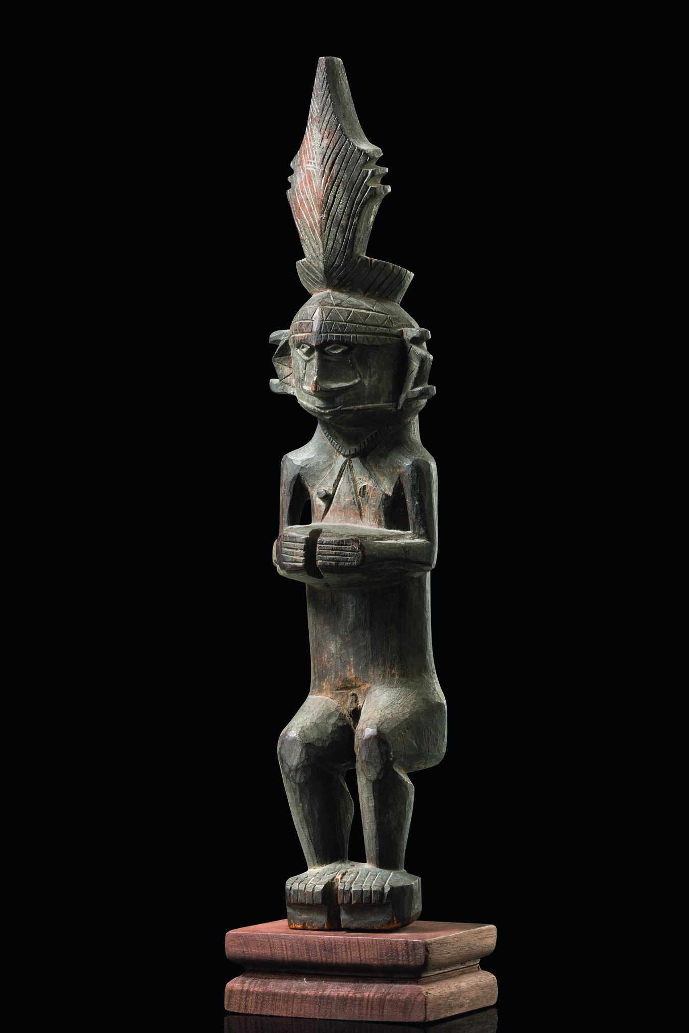 Ancestor figure adu zatua - Indonesia - Nias