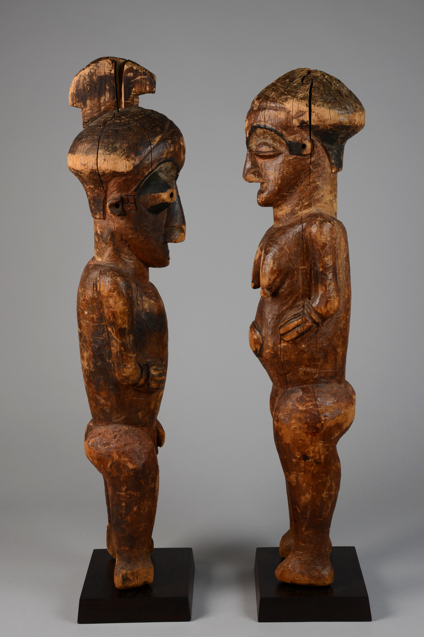 Standing male/female couple