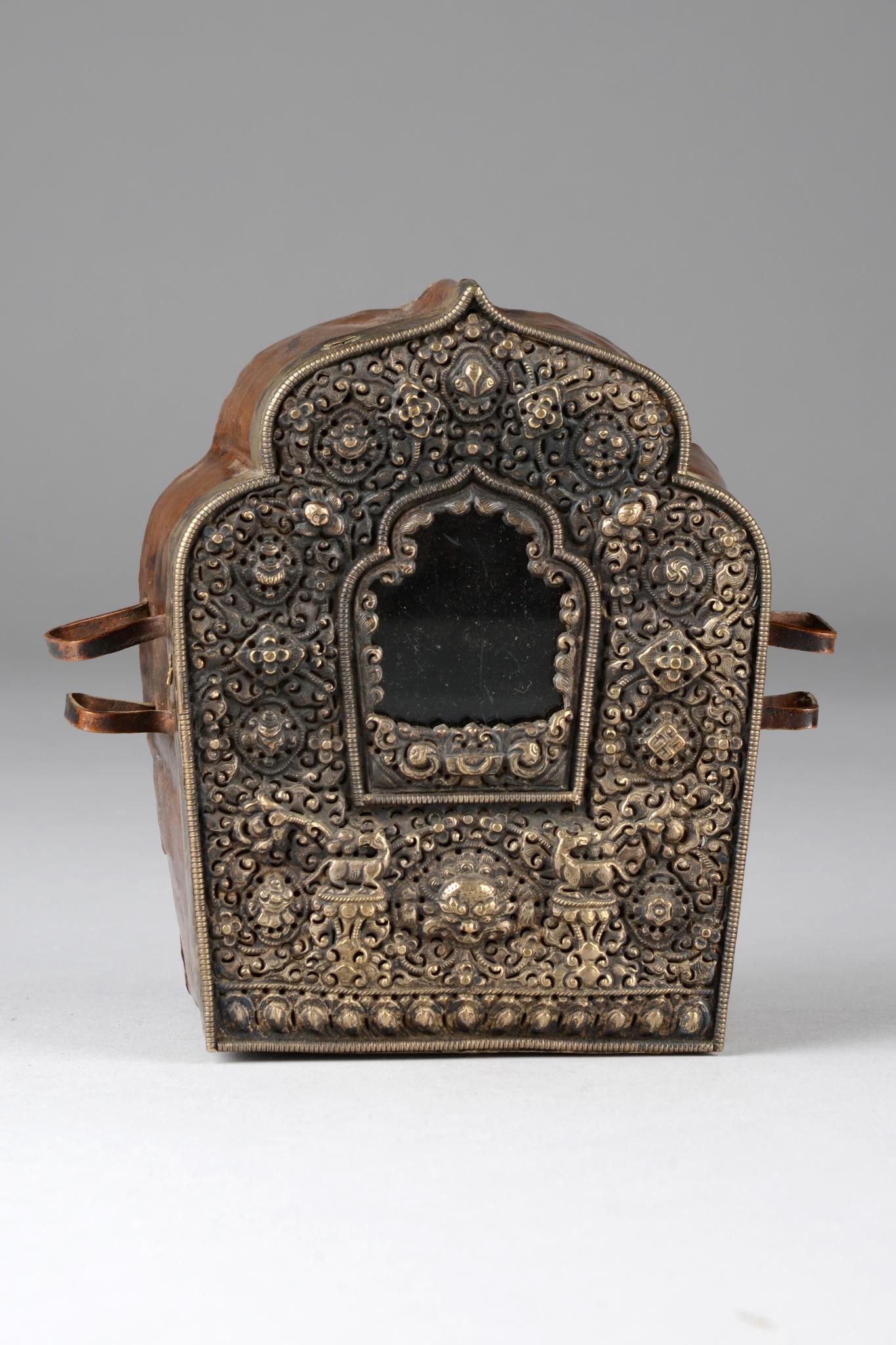 """Buddhistischer Amulett-Behälter """"gau"""""""