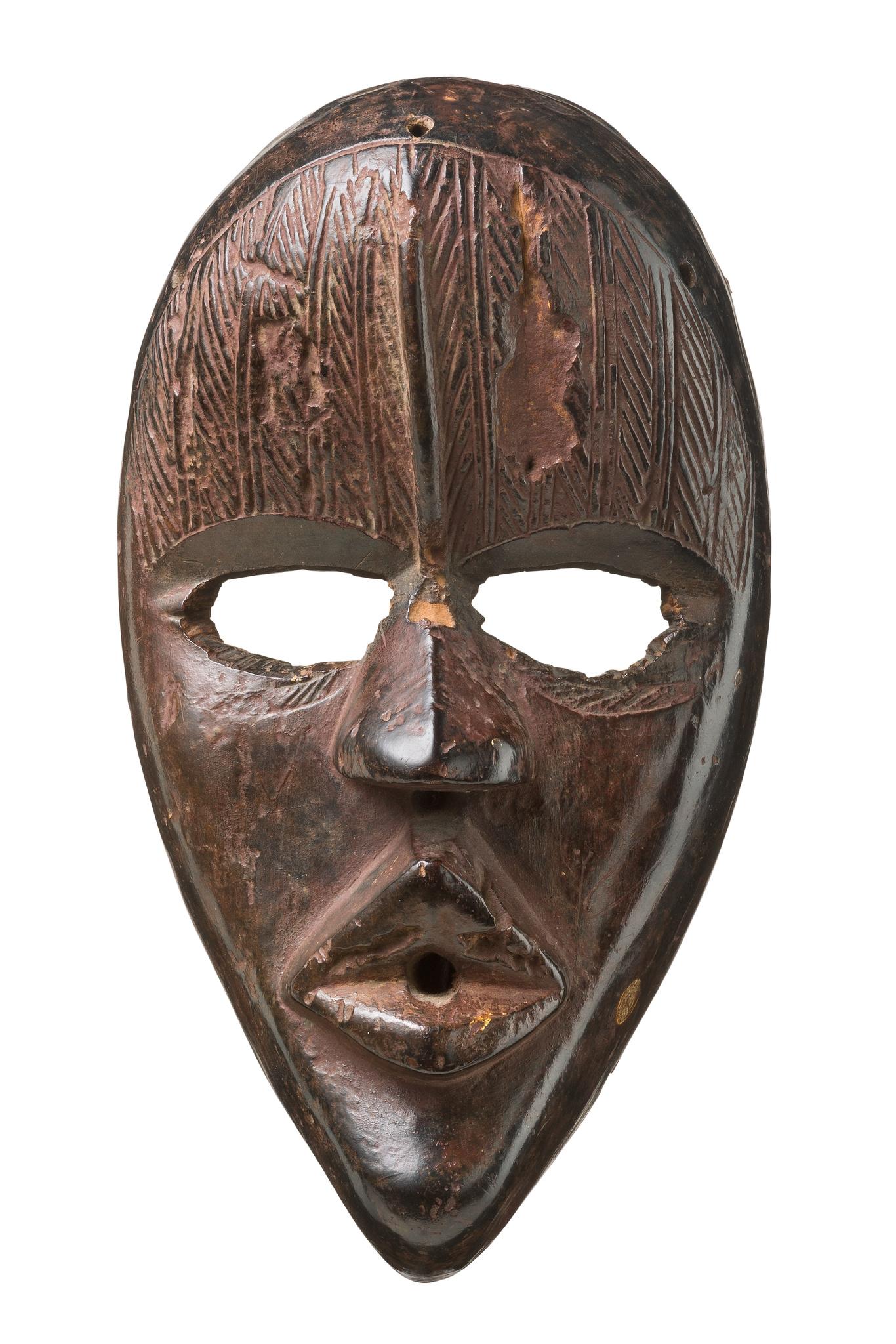 "Anthropomorphe Gesichtsmaske ""tankagle"""