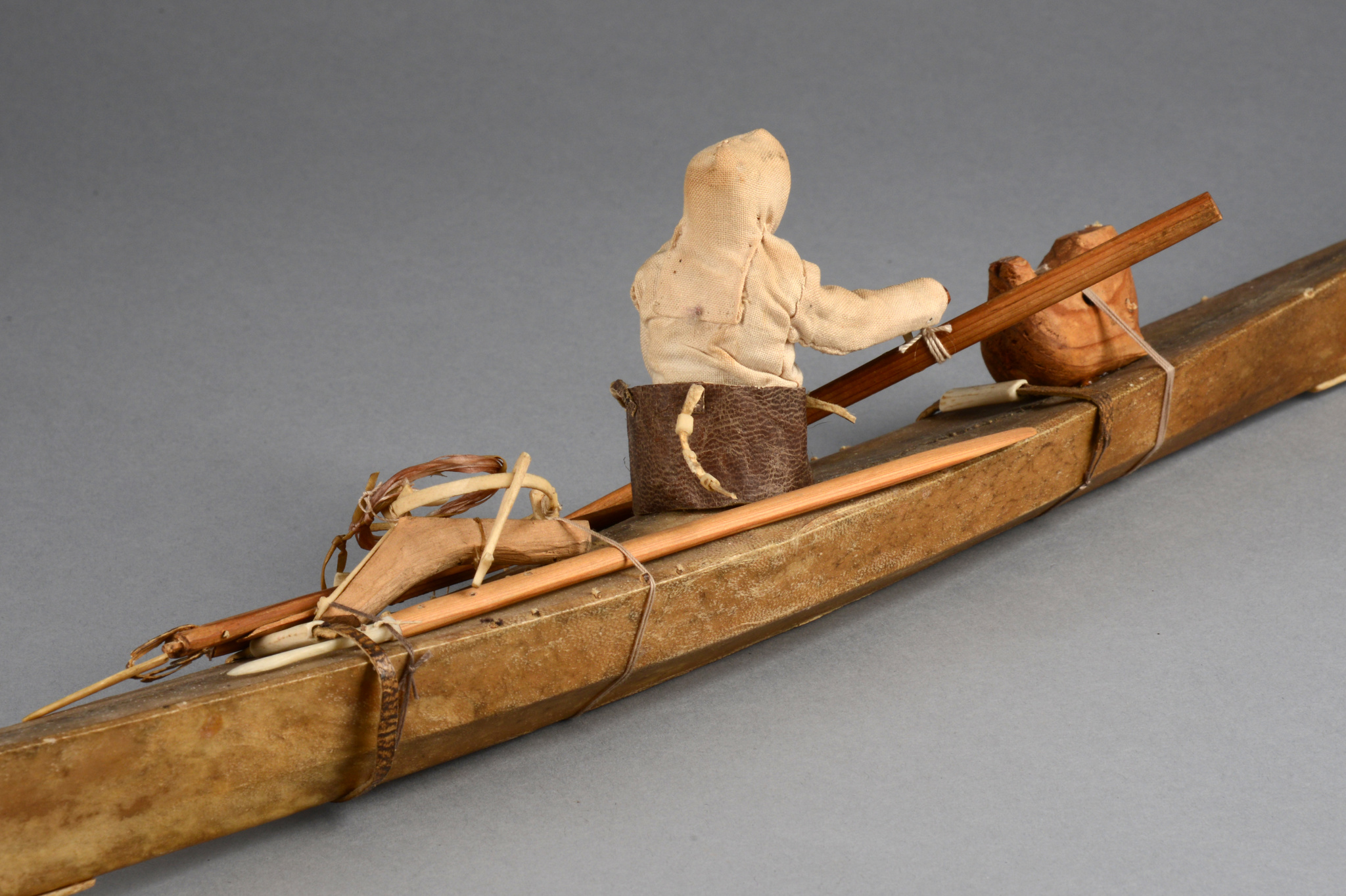 Model of Inuit kajak