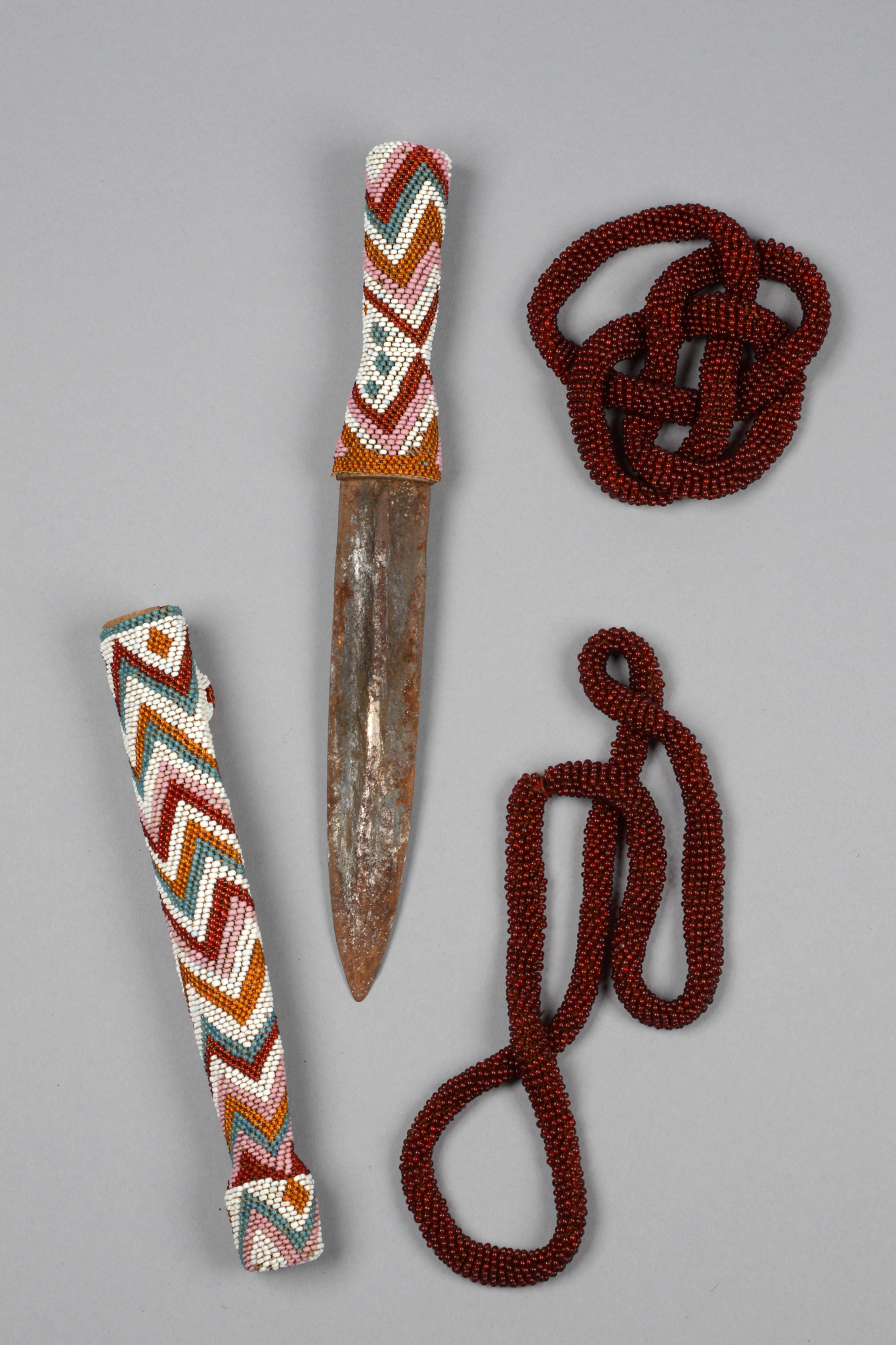 Dagger and two necklaces
