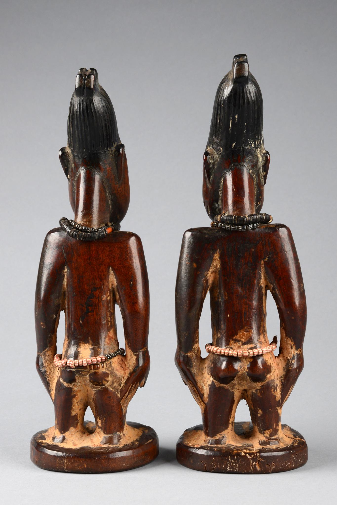 """Männlich/weibliches Zwillingsfigurenpaar """"ere ibeji"""""""