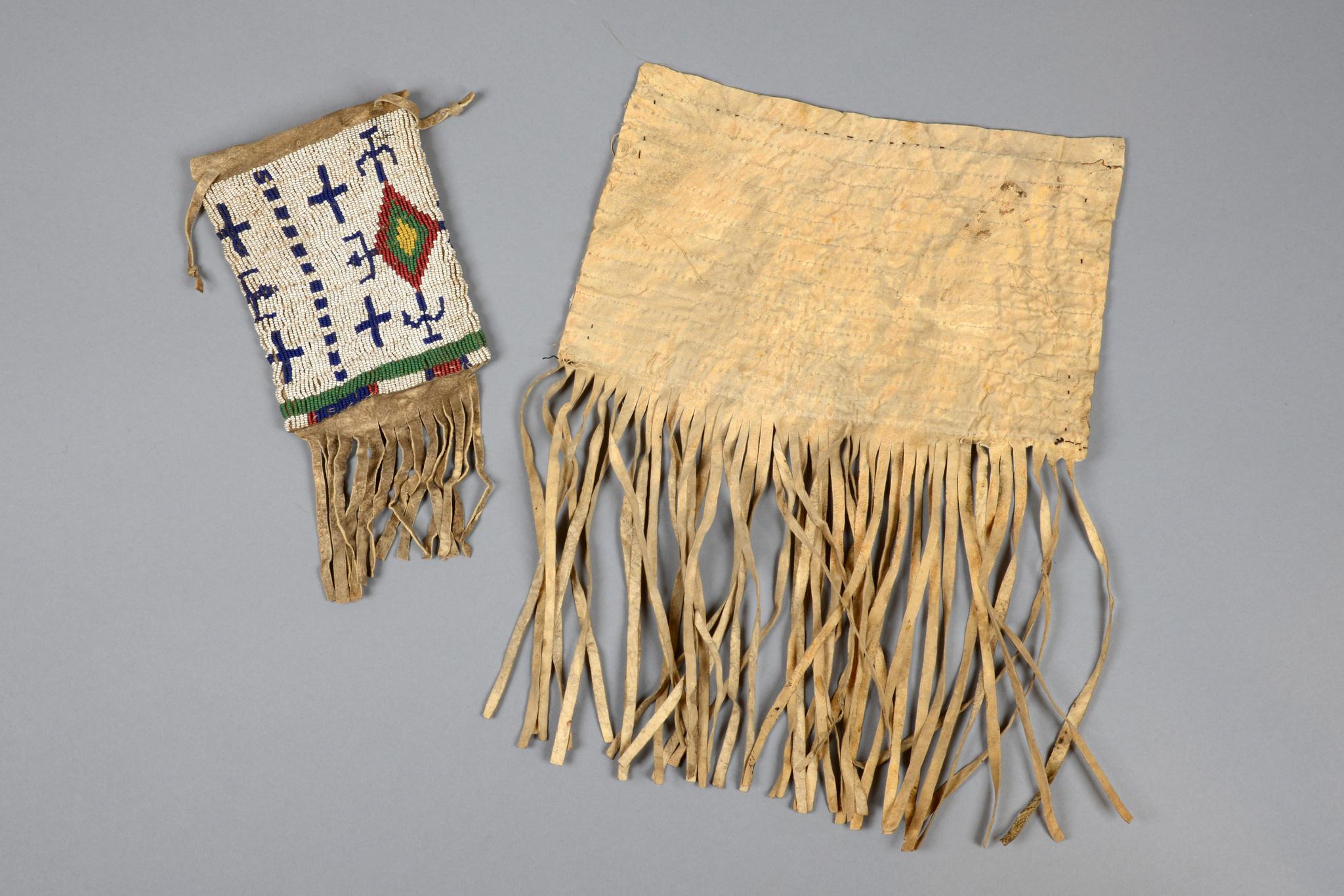 Tasche und Taschenklappe