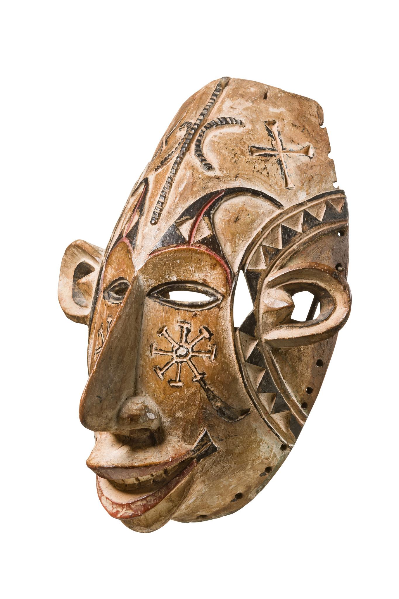"""Maske """"agbogho mmwo"""" (""""Geist eines jungen Mädchens"""")"""