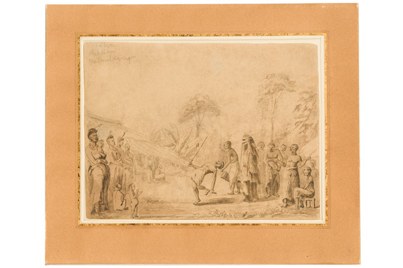 "Dessin ""End of Mourning"", 1869"