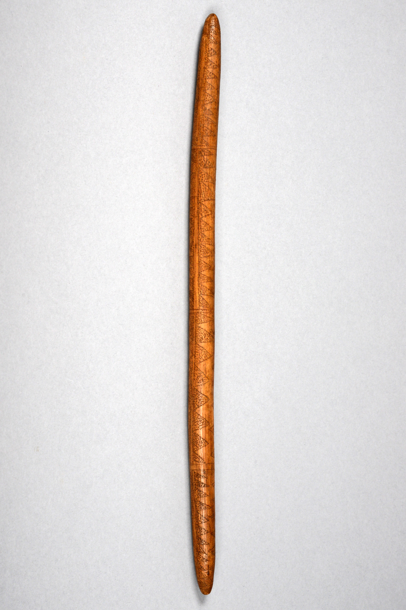 Messenger stick, before 1931