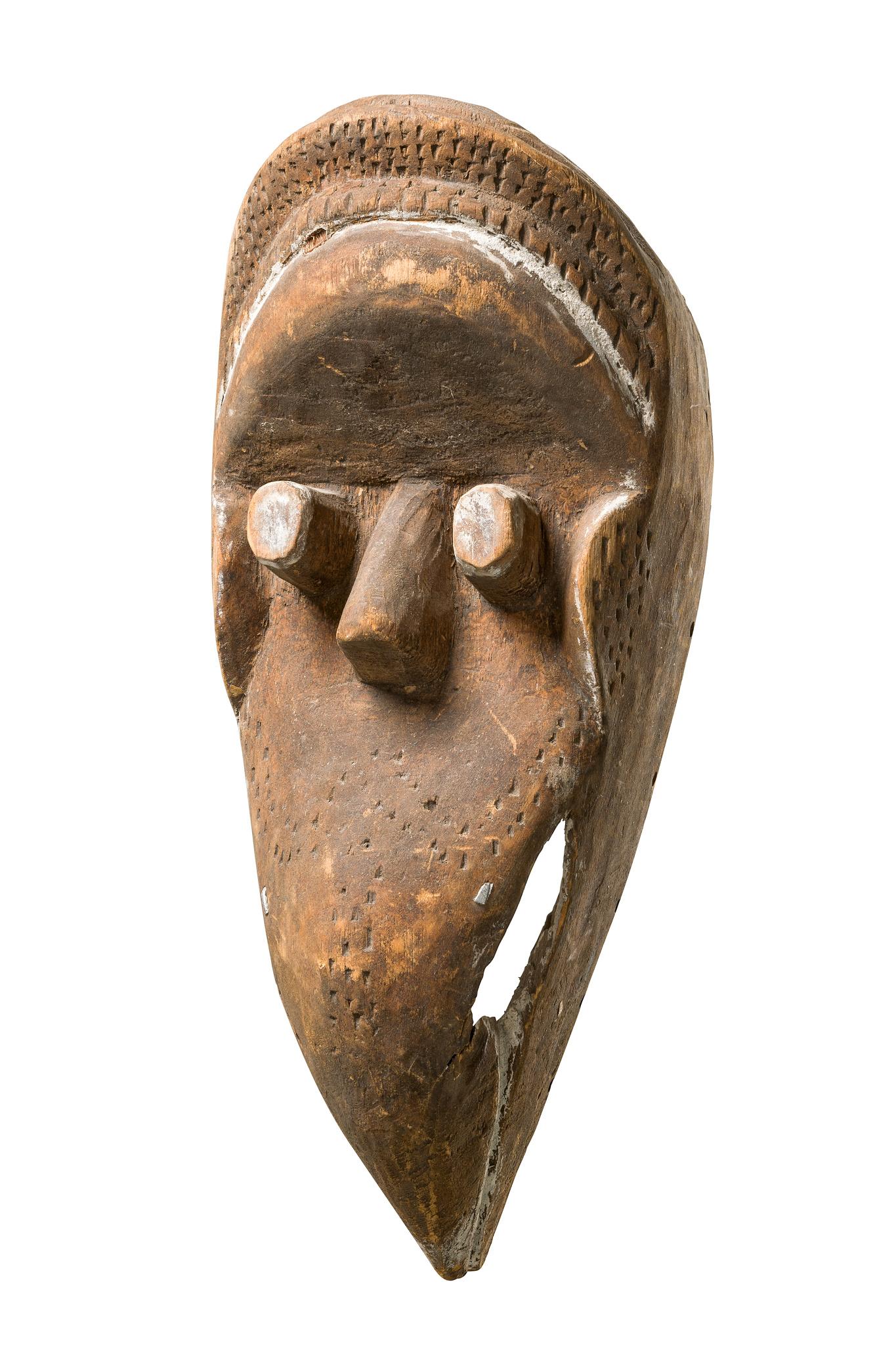 Anthropo-/zoomorphe Maske
