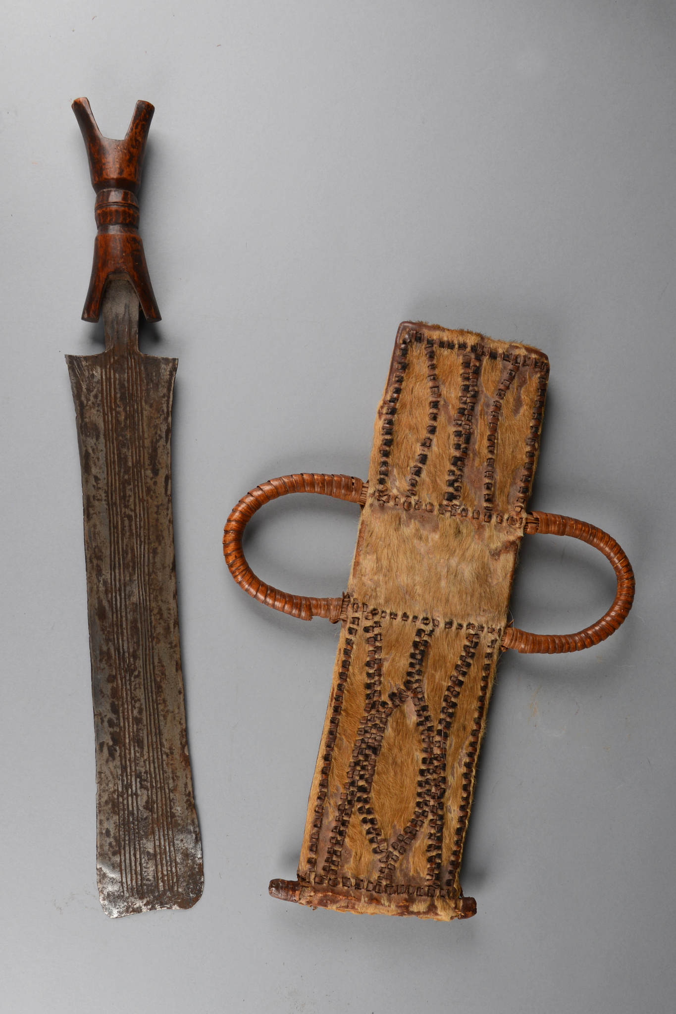 Sword with sheath, before 1914