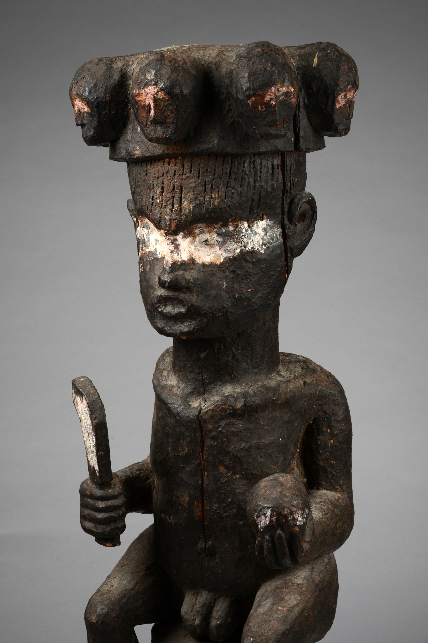 "Early shrine figure ""ikenga"", 19th century"