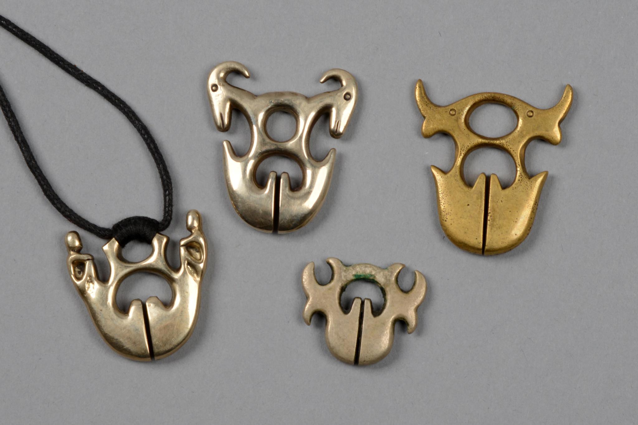"""Four amulets """"linglingo"""""""