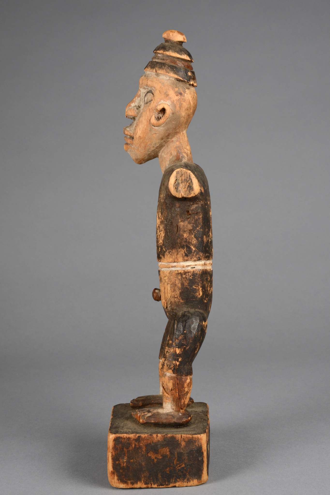 Standing figure in colon style, 1880/90