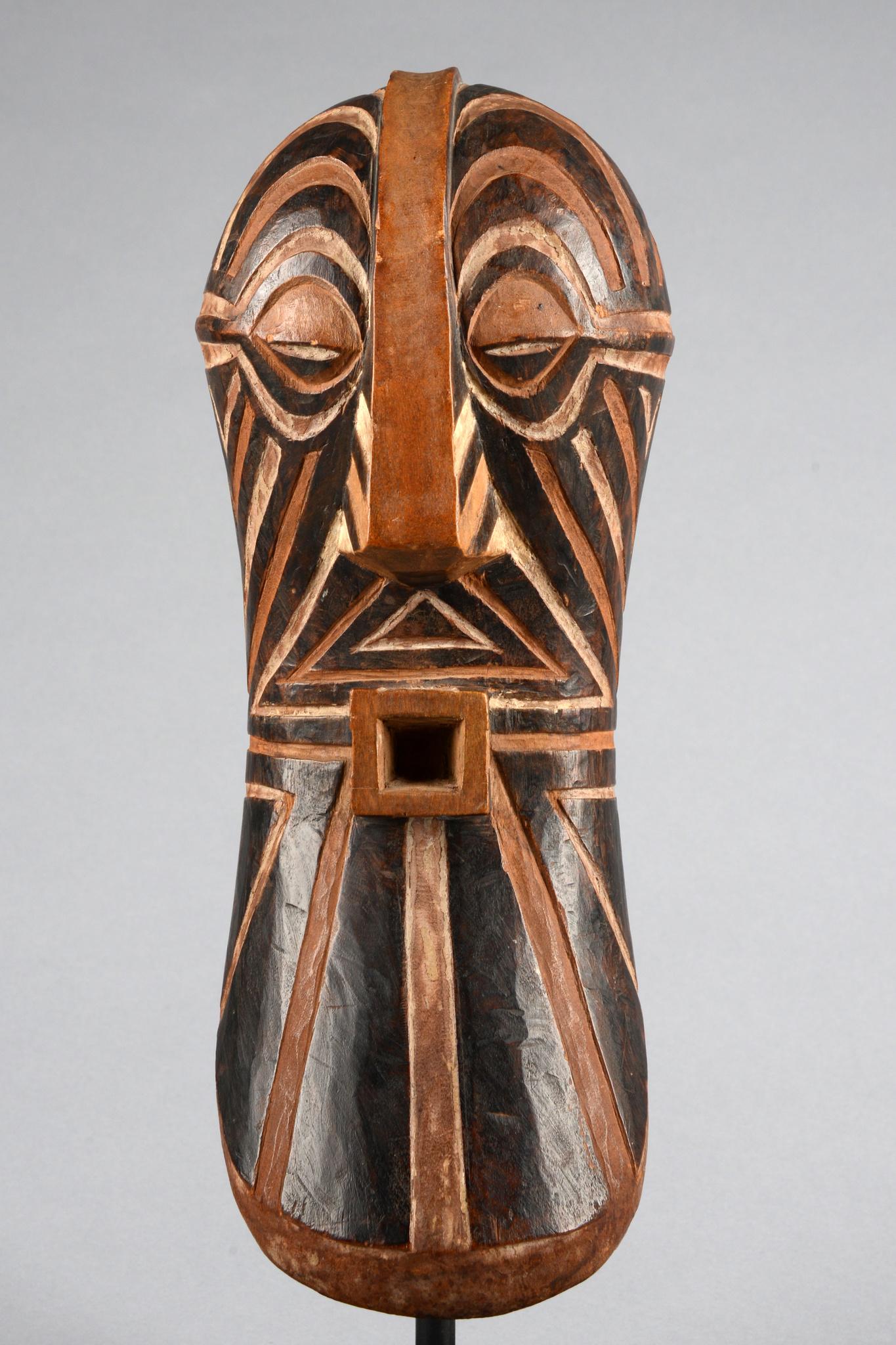"""Männliche Maskette der """"bwadi bwa kifwebe""""- Gesellschaft"""