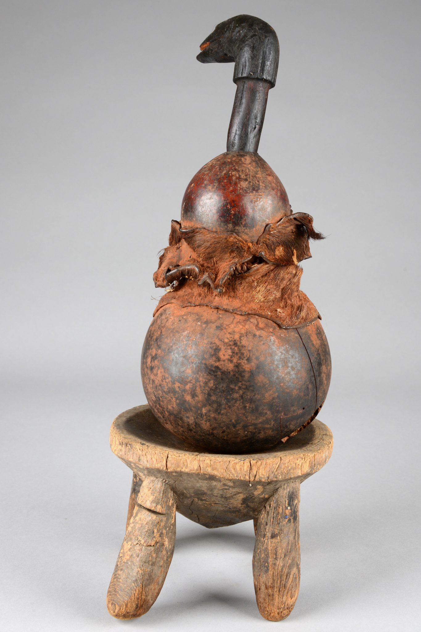 Calabash with stool
