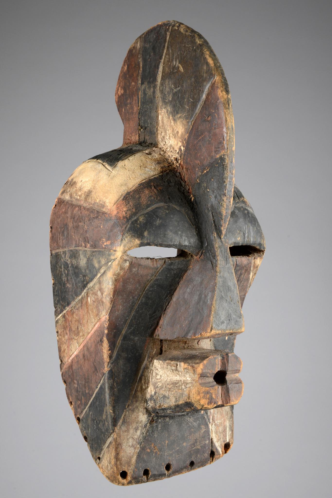 """Maske """"kifwebe"""", männlicher Typus """"kilume"""""""