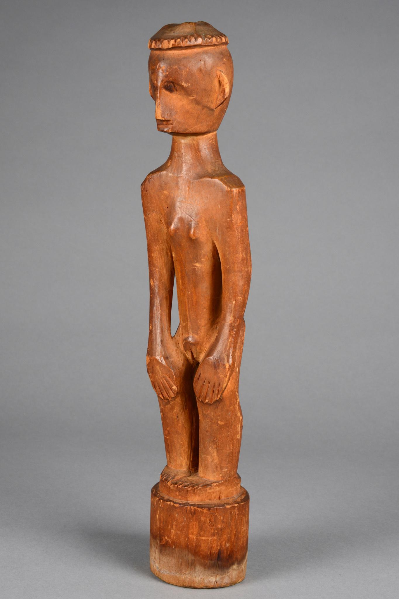 "Standing female figure ""binulul"", around 1910/20"