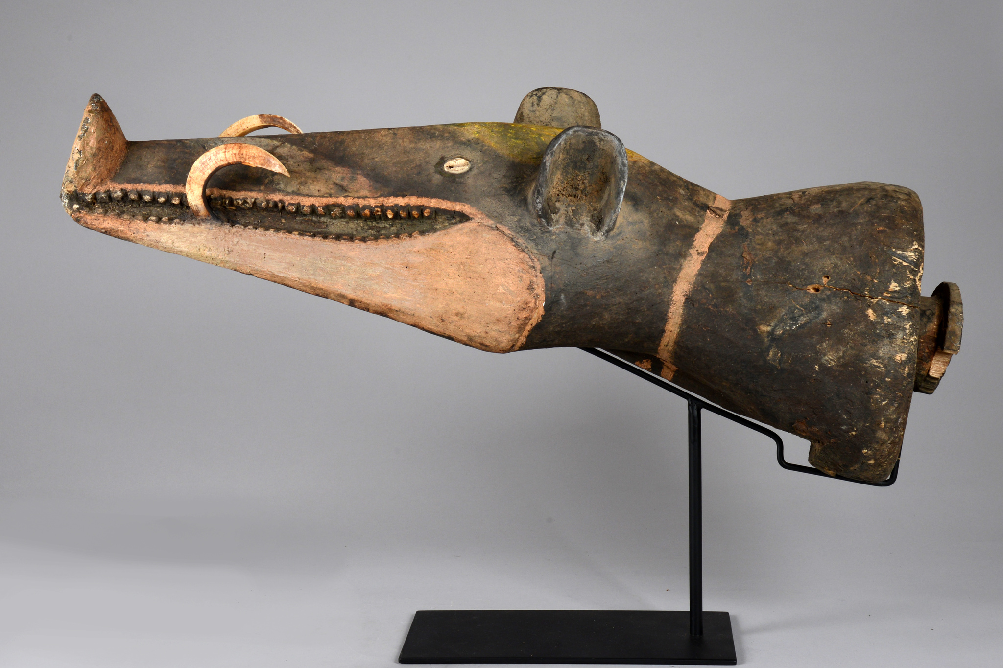 Headpiece of a large mask ensemble