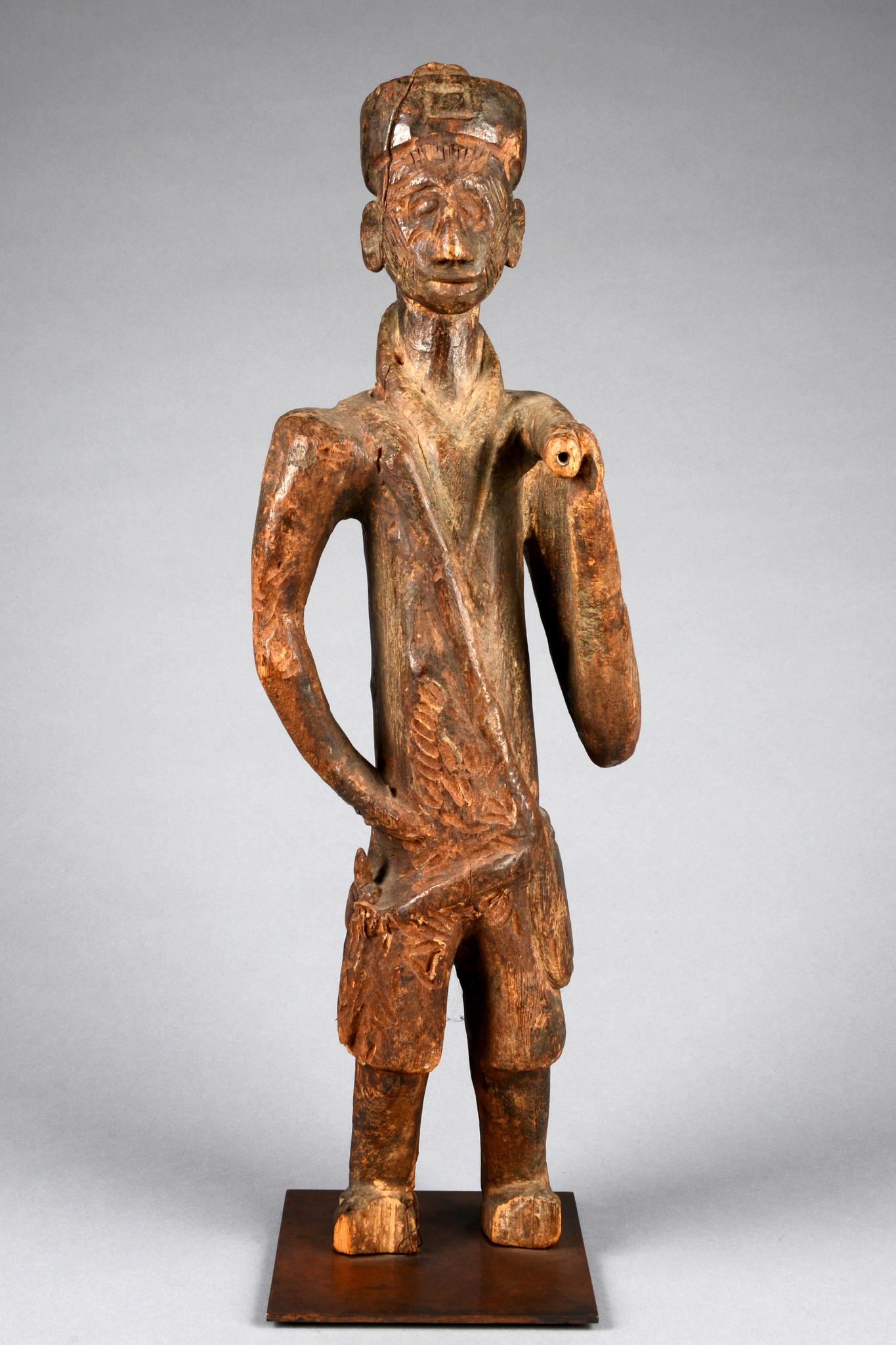 Standing colon figure
